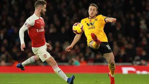 Jota de held van Wolves tegen Leicester