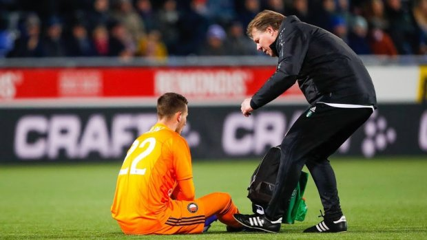 Feyenoord vreest forse blessure Bijlow
