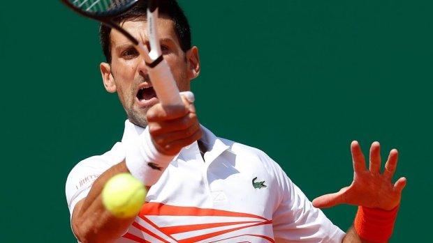Djokovic opnieuw snel klaar in Monte Carlo