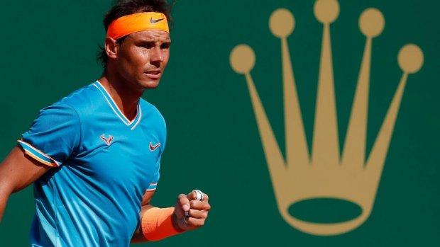 Nadal in halve finale na stroef begin