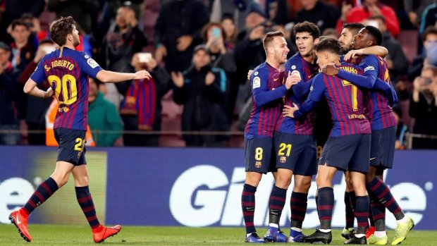 Invaller Messi leidt Barcelona naar winst