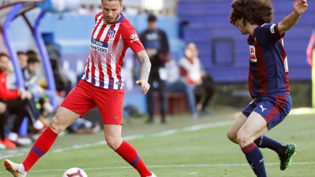 Benauwde zege Atlético Madrid