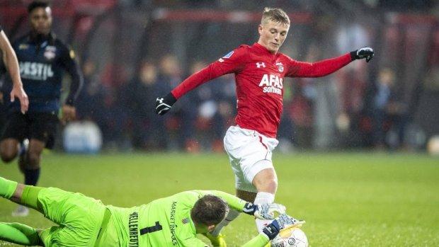 AZ met Gudmundsson tegen Feyenoord