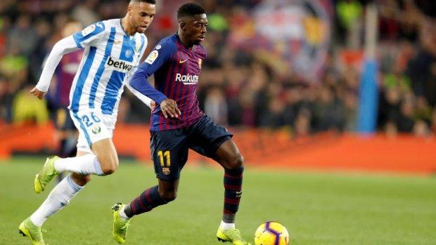 Barça twee weken zonder Dembélé