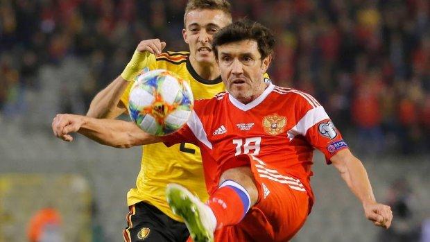 België verslaat Rusland in Brussel