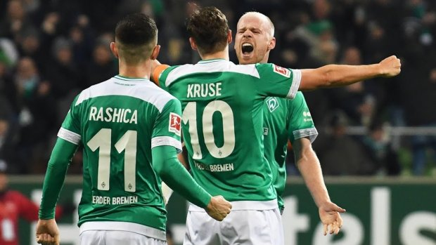 Klaassen redt punt voor Werder Bremen