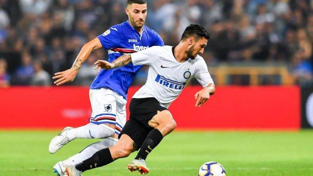 Inter wint weer in blessuretijd