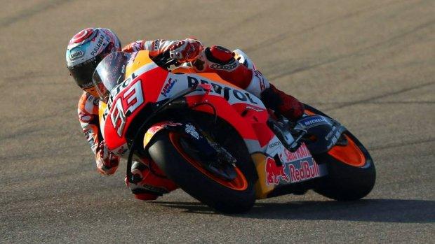 Márquez verslaat grote concurrent Dovizioso