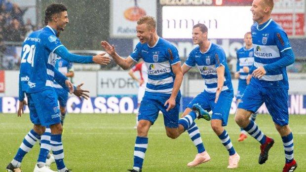 PEC Zwolle wint nipt in Emmen