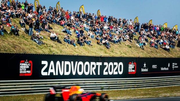 GP Zandvoort in heel Nederland gratis te zien