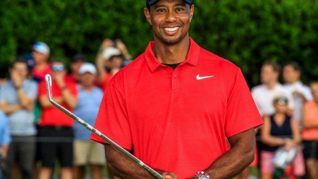 Eerste toernooizege Woods in ruim 5 jaar