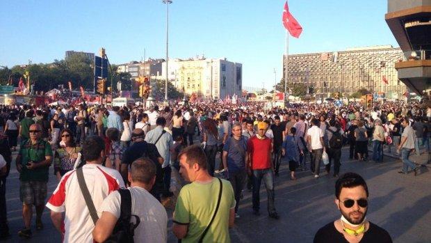 Oproep tot nieuwe massademonstratie Taksimplein