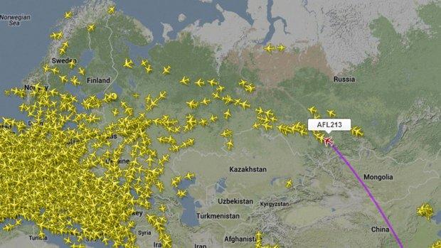 Volg de vlucht van klokkenluider Snowden