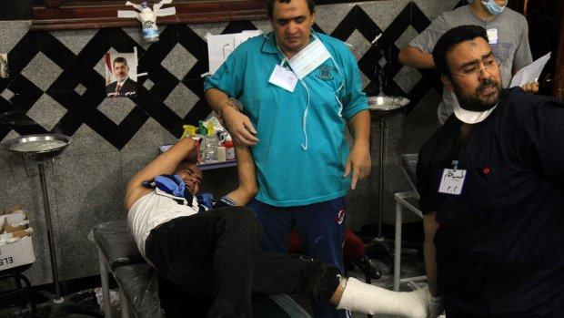 Chaos in ziekenhuis Egypte: meer dan 1000 gewonden
