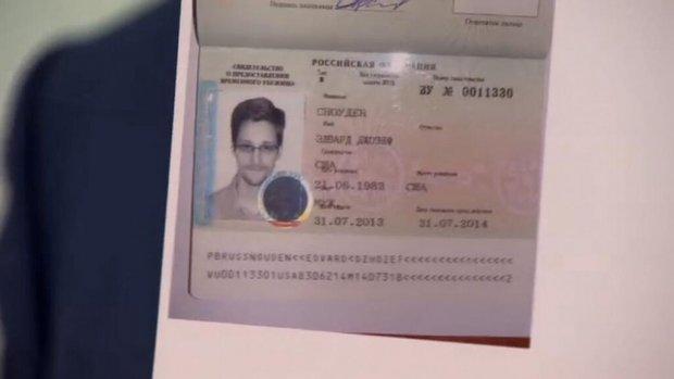Het bewijs: visum voor Snowden