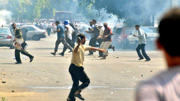 Aanhanger Morsi doodgeschoten bij protest