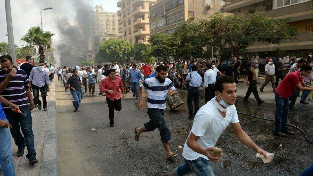 Bloedbad bij ontruiming Egypte