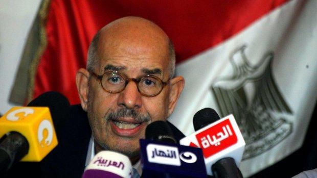 El-Baradei treedt af om geweld Egypte
