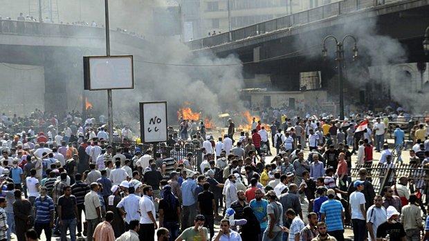 Moslimbroederschap gaat door met protesten
