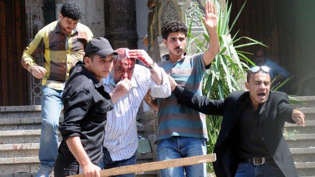 Europa 'zeer verontrust' door geweld Egypte