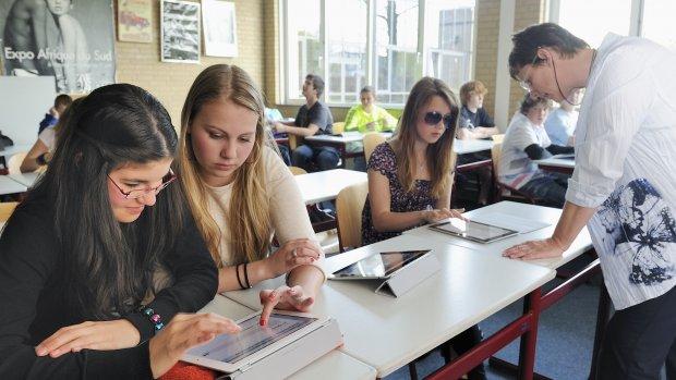 iPad-onderwijs officieel van start