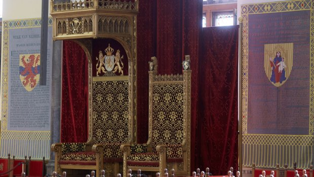 Draaiboek Prinsjesdag en de route van de Gouden Koets