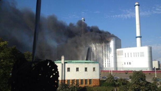 Grote brand in Rotterdam