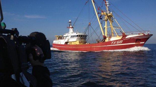 Terug naar haven voor onderzoek na botsing met Maria