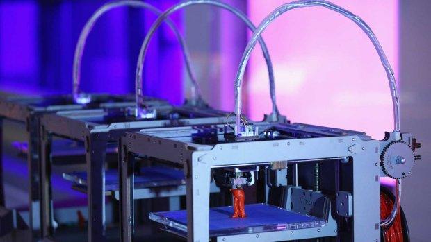 Brit de cel in om pistool uit 3D-printer