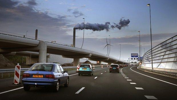 CO2-uitstoot Nederlandse industrie gelijk gebleven