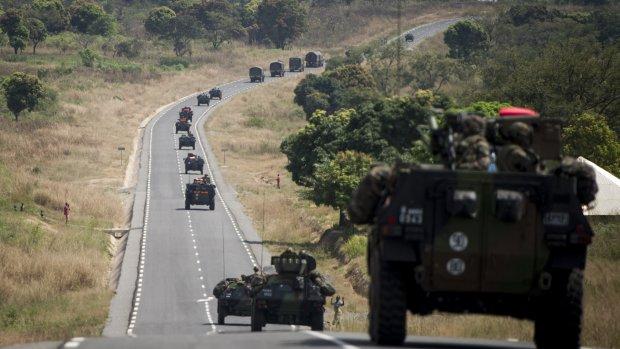 Vier Nederlandse militairen helpen Centraal-Afrikaanse Republiek