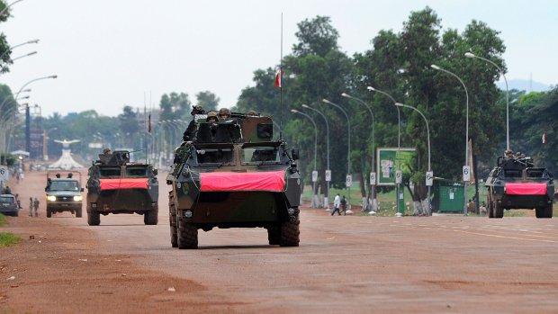 Frans leger begint operatie in Centraal Afrikaanse Republiek