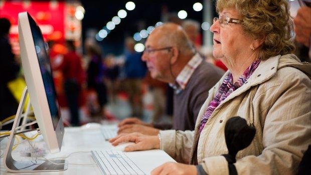 Onlineshoppen neemt vlucht onder 65-plussers