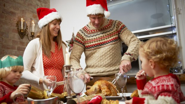 Kerst 2013: gezellig samen in de keuken