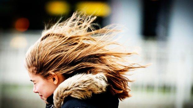 Waarschuwing: pas op voor zware windstoten