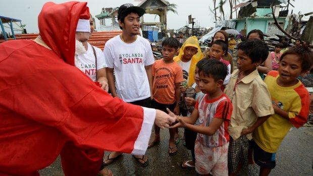 Lichtpuntje voor slachtoffers tyfoon Haiyan