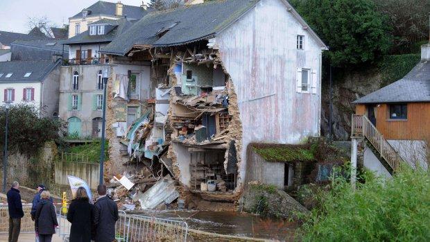 Nog steeds overlast door storm in Groot-Brittannië en Frankrijk