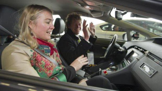 Topoverleg over zelfrijdende auto's
