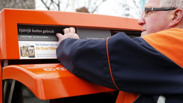 PostNL haalt 10.000 brievenbussen weg