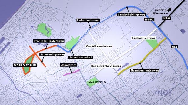 Op deze plekken in Den Haag heeft het verkeer last van de nucleaire top