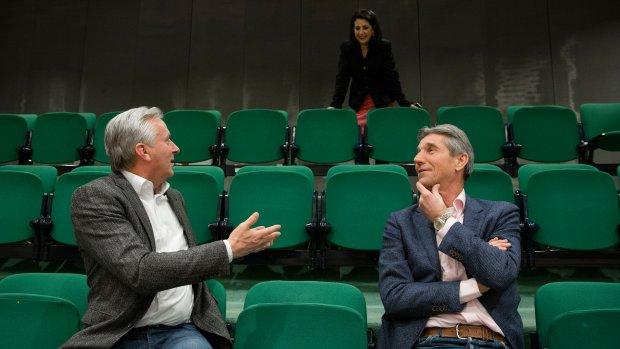 Hans Smolders en Simon Fortuyn bij debat over Van der G.
