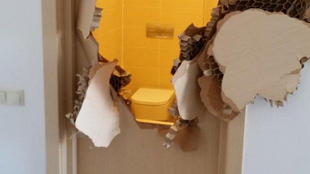 Amerikaanse olympiër opgesloten in badkamer