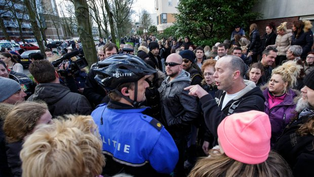 Bewonersbijeenkomst Leiden 'om emotie te uiten'
