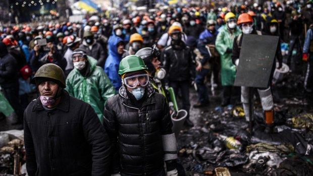Bestand Oekraïne van korte duur; weer gevechten in Kiev