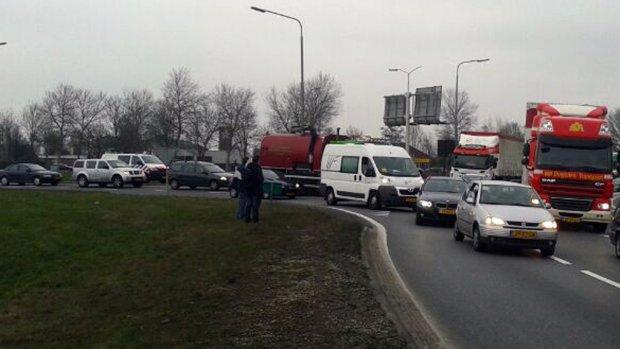 Blokkade-acties bijna voorbij, alleen nog op A7 en A12