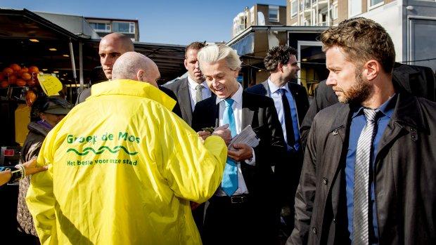 Klachten over uitspraken Wilders naar OM