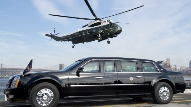 Obama's limo 'The Beast' is in Nederland