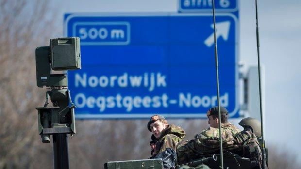 Nucleaire top: snelwegen al uur eerder dicht