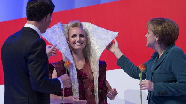 Fashion en ruimtevaart: het beste van de openingsdag van Hannover Messe