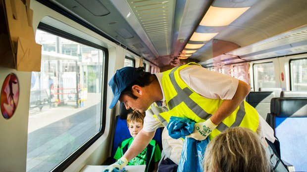 'Nog twee weken smerige treinen'